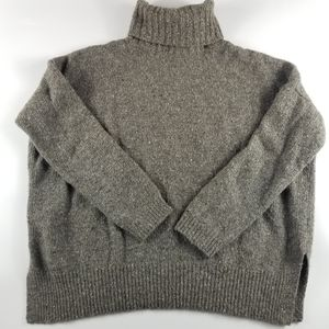 Vince Wool Blend Donegal Knit Sweater, Small